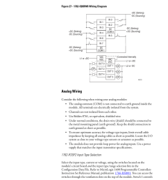 analog wiring 1762 if2of2 input type selection rockwell automation 1766 lxxxx micrologix 1400 programmable controllers user manual user manual page 64  [ 954 x 1235 Pixel ]
