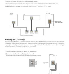 basic hookup bi wiring vr2 vr3 only boston acoustics vrc user manual page 4 8 [ 954 x 1304 Pixel ]