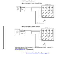 safety analog input wiring examples rockwell automation 1734 ie4s rh manualsdir com pnp sensor wiring allen [ 954 x 1235 Pixel ]