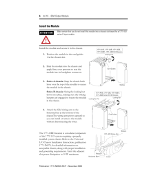 install the module rockwell automation 1771 obd series c instl instr dc 10 [ 954 x 1235 Pixel ]