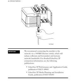 rockwell automation 1756 enbt controllogix ethernet ip bridge module installation instructions user manual  [ 954 x 1406 Pixel ]