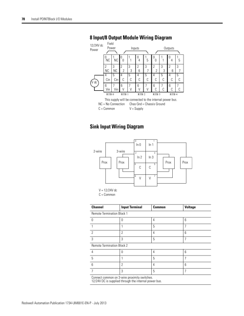 small resolution of 8 input 8 output module wiring diagram sink input wiring