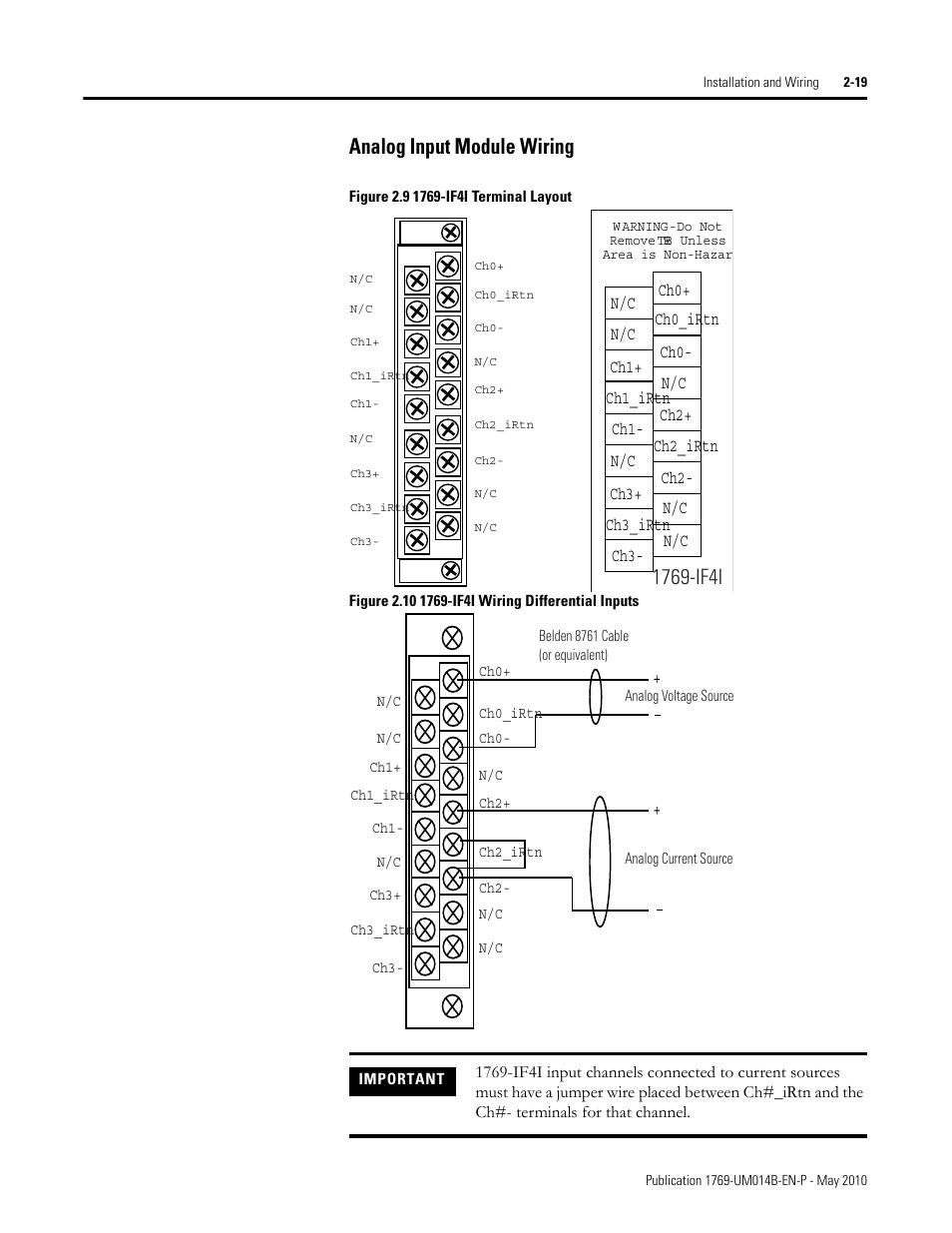 110 Wiring Diagram Analog Input Module Wiring Analog Input Module Wiring 18