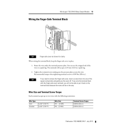 wire size and terminal screw torque wiring the finger safe terminal block rockwell automation 1762 ow16 relay output module user manual page 13 20 [ 954 x 1235 Pixel ]