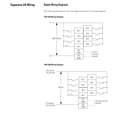 expansion i o wiring digital wiring diagrams rockwell automation 1763 micrologix 1100 programmable [ 954 x 1235 Pixel ]