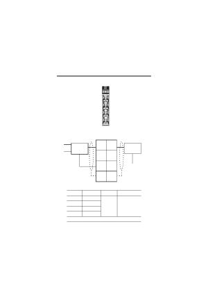 Wiring the input analog module, Wiring diagram, Wiring the input analog module wiring diagram