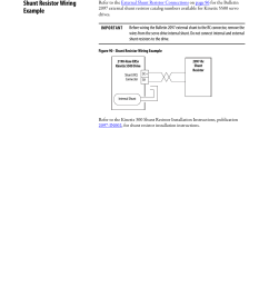 shunt resistor wiring example rockwell automation 2198 hxxx kinetix 5500 servo drives user manual user manual page 194 244 [ 954 x 1235 Pixel ]