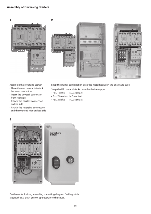 small resolution of rockwell automation ks7 c0s4r sprecher schuh ks7 plastic encl for dol and reversing starter user manual page 2 4