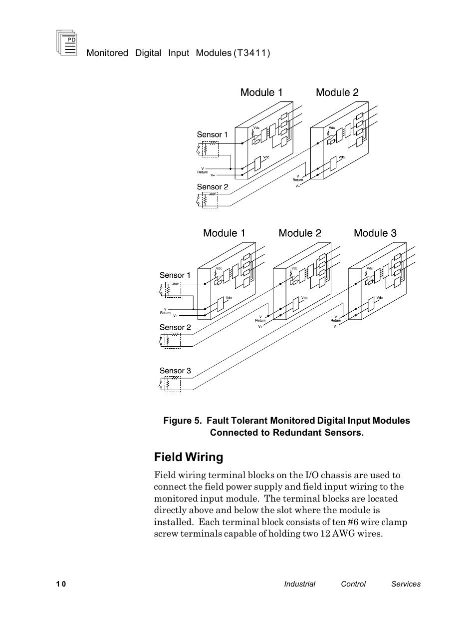medium resolution of field wiring rockwell automation t3411 ics regent monitored digital input modules user manual page 10 26