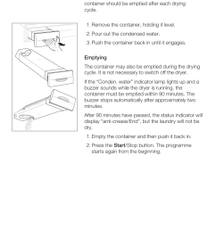 empty the water container bosch maxx wtl 6500 user manual page 31 48 [ 954 x 1349 Pixel ]