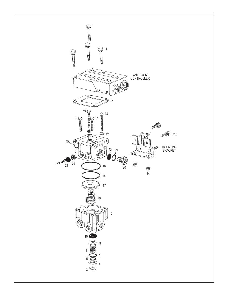 Bendix Commercial Vehicle Systems AR-1 ANTILOCK RELAY