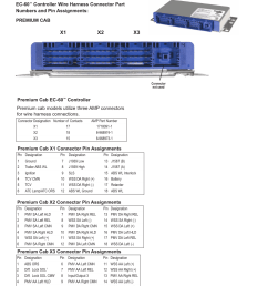 troubleshooting connectors and harnesses x1 x2 x3 continued bendix commercial vehicle systems ec 60 atc std prem controllers user manual page 30  [ 954 x 1235 Pixel ]
