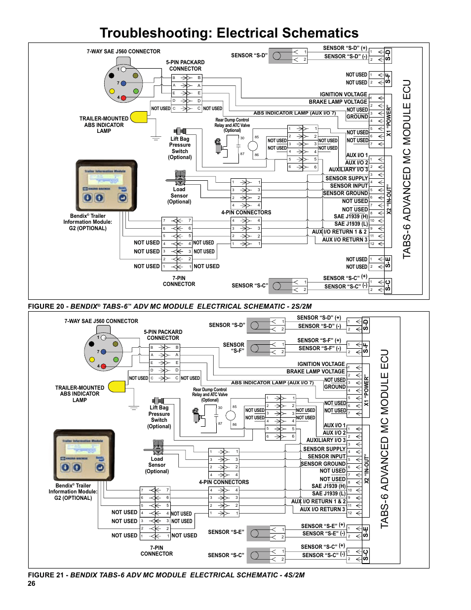 Troubleshooting: electrical schematics, 26 figure 20