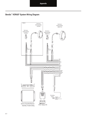 Bendix, Vorad, System wiring diagram | Bendix Commercial