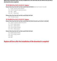 fuse information bully dog 40510 triple dog gas downloader user manual page 9  [ 954 x 1475 Pixel ]