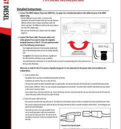 gt diesel physical installation obdii adapter plug installation diagram bully dog 40420 gauge [ 954 x 1235 Pixel ]