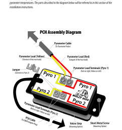 installation pch assembly diagram bully dog 40390 pch with rtd wiring diagram installation pch [ 954 x 1475 Pixel ]