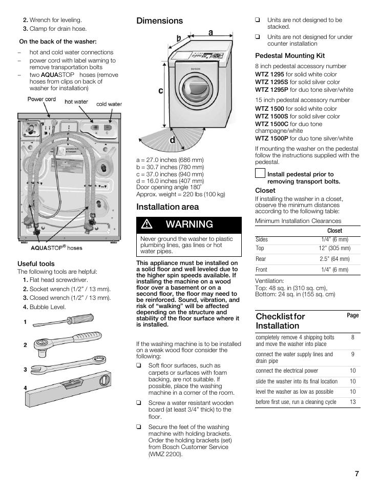 Mode Demploi Bosch Varioperfect Serie 2
