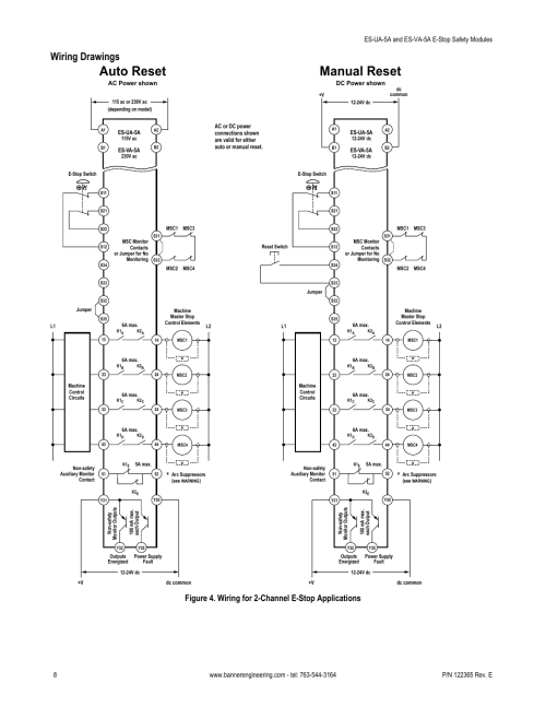 small resolution of auto reset manual reset wiring drawings figure 4 wiring for 2 rh manualsdir com 230v single phase wiring diagram 230v single phase wiring diagram