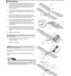 wing installation e flite apprentice s 15e rtf with safe user manual page 6 28 [ 954 x 1210 Pixel ]