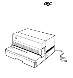 gbc magnapunch user manual 36 pages also for magna punch basic wiring diagram gbc wiring diagram [ 954 x 1235 Pixel ]