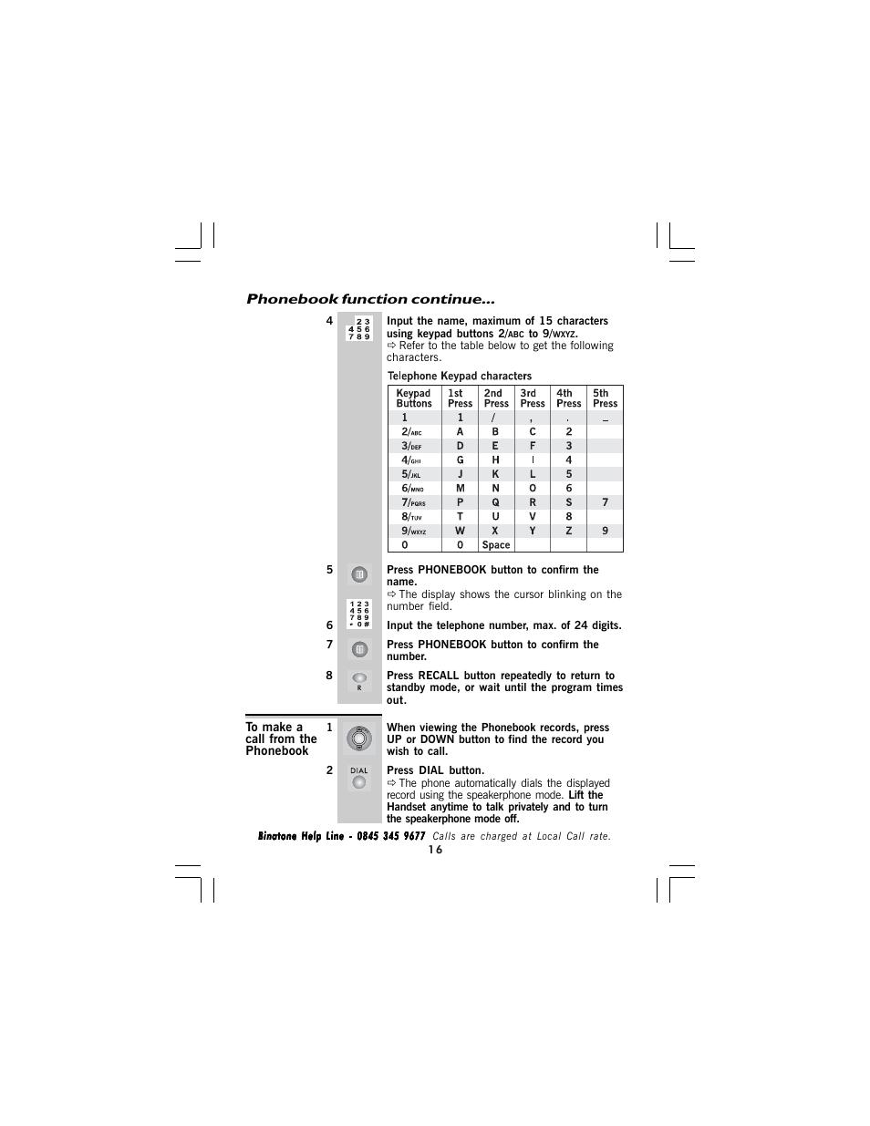 BINATONE SPEAKEASY 5 MANUAL PDF