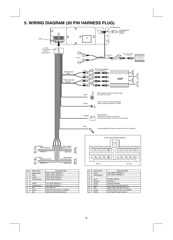 Boss Audio Wiring Pin Diagram | mine-result wiring diagram -  mine-result.ilcasaledelbarone.itilcasaledelbarone.it