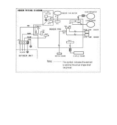 wiring diagram 1 indoor unit klimaire ksim series service manual user manual page [ 954 x 1235 Pixel ]