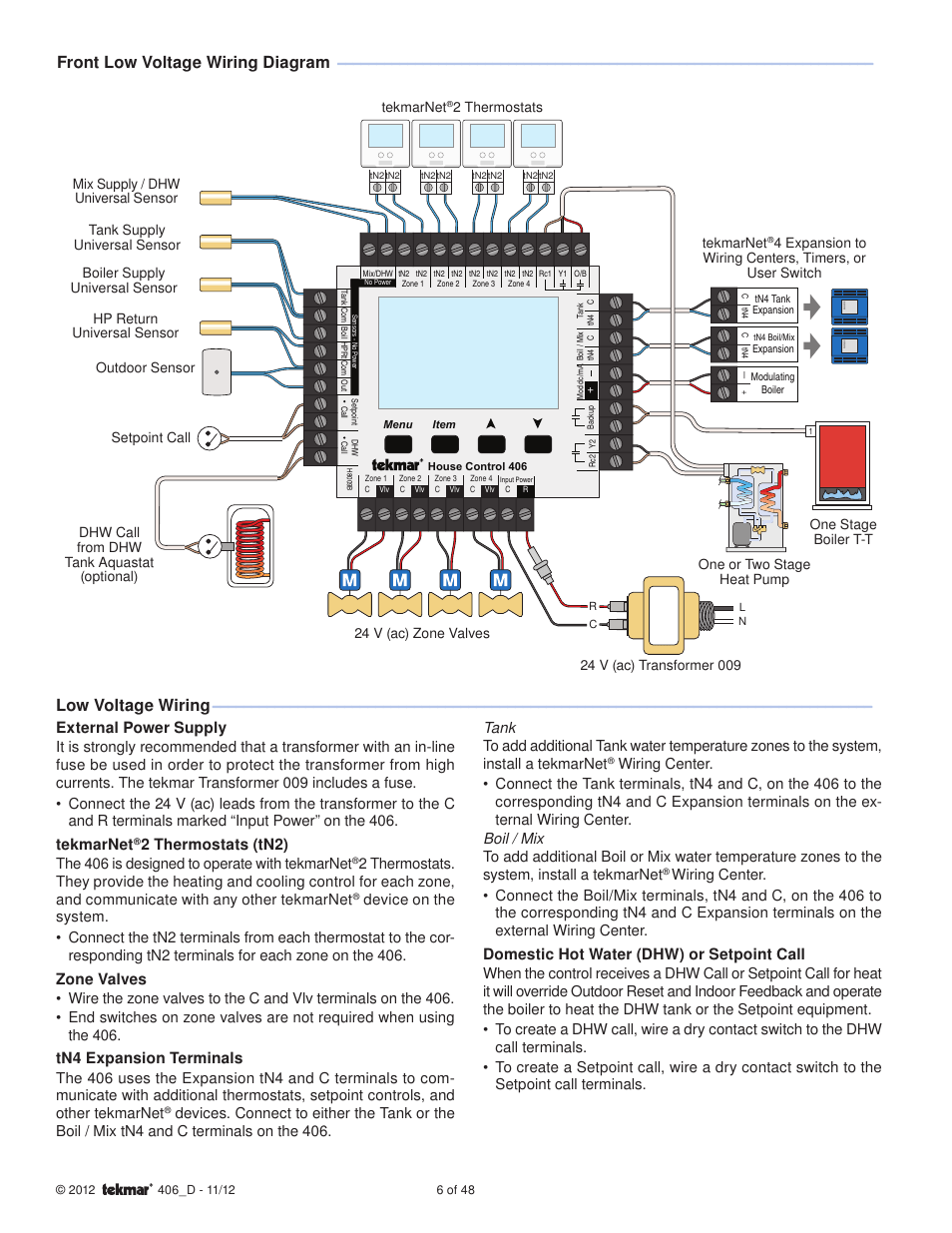 medium resolution of tekmar wiring diagram