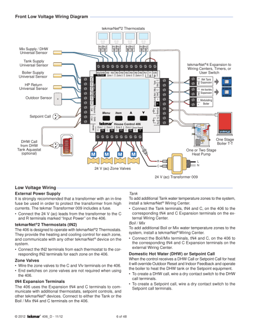 small resolution of tekmar wiring diagram