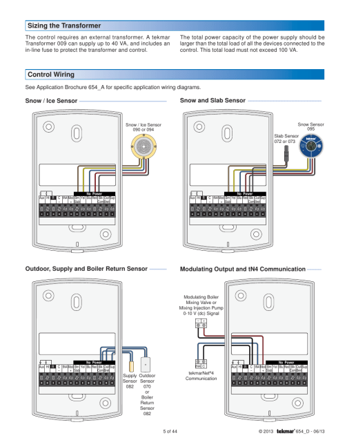 small resolution of tekmar wiring diagram wiring diagramtekmar wiring diagram 20