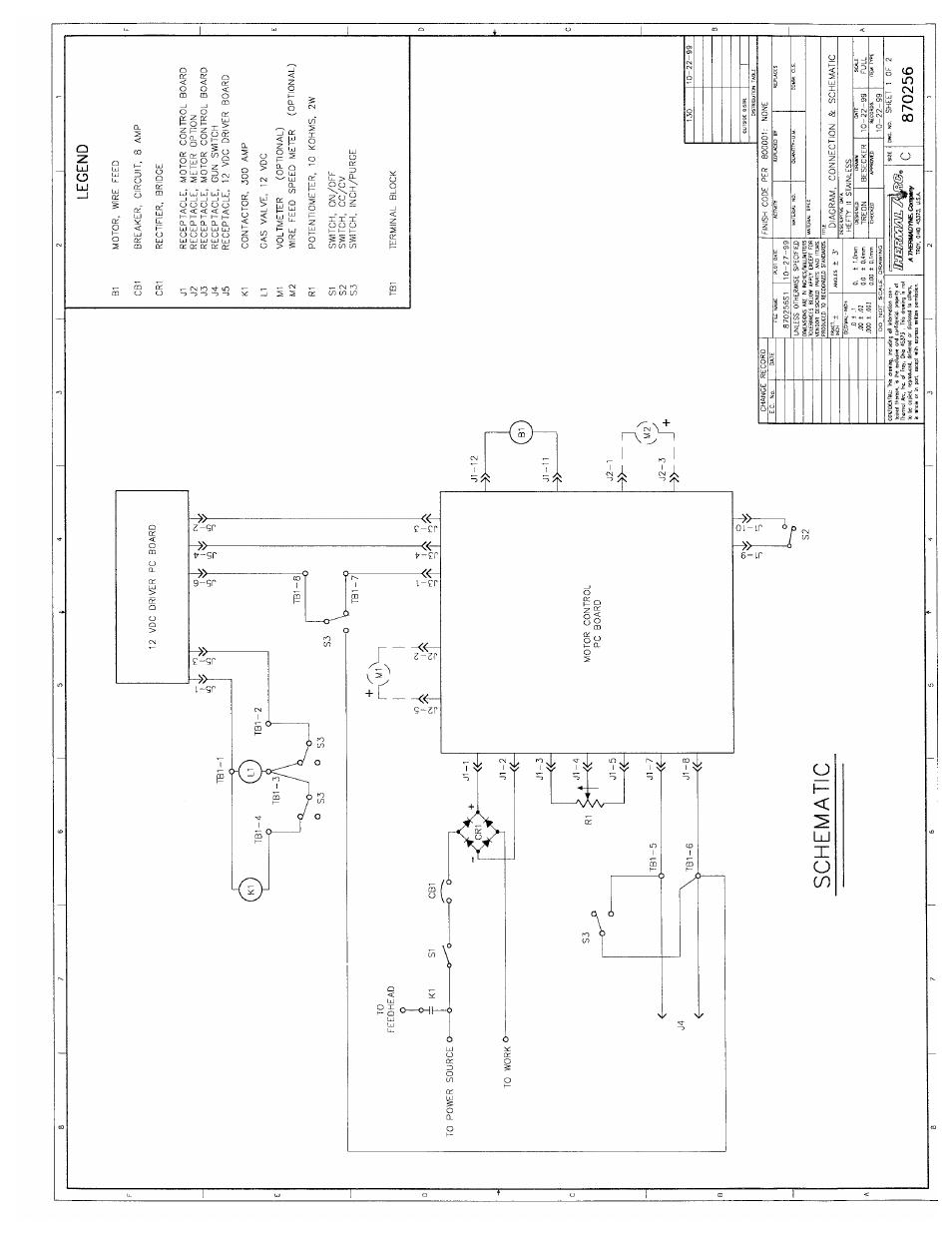 Tweco Hefty II CC CV Voltage Sensing Wire feeder User