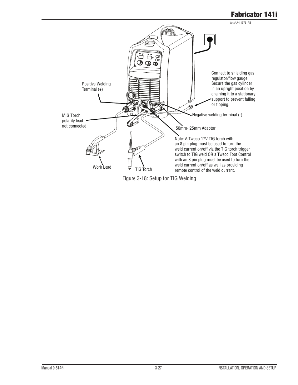 medium resolution of fabricator 141i tweco fabricator 141i operating manual user manual page 57 104