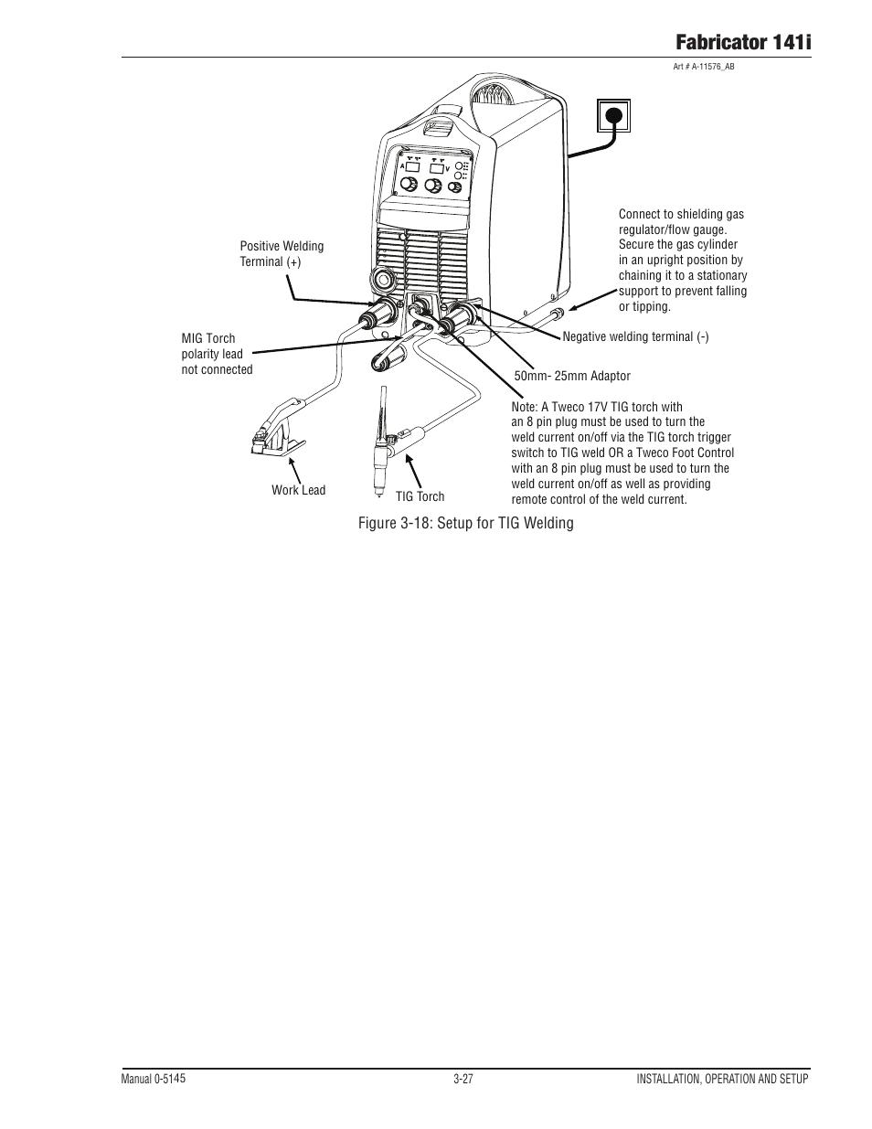 hight resolution of fabricator 141i tweco fabricator 141i operating manual user manual page 57 104