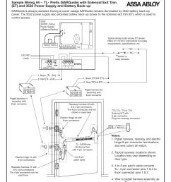 f tl sarguide wiring examples cont d sargent al alarmed exit [ 954 x 1235 Pixel ]