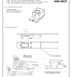 al circuit board f j or g wiring harness sargent al alarmed exit user manual page 3 6 [ 954 x 1235 Pixel ]