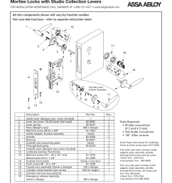 sargent 7900 mortise lock user manual 4 pages also for 8200 mortise lock parts diagram further sargent mortise lock parts diagram [ 954 x 1235 Pixel ]