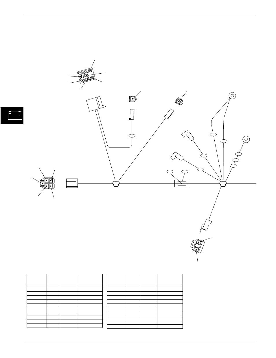 medium resolution of wiring harness diagrams electrical john deere stx38 user manual rh manualsdir com john deere l130 wiring