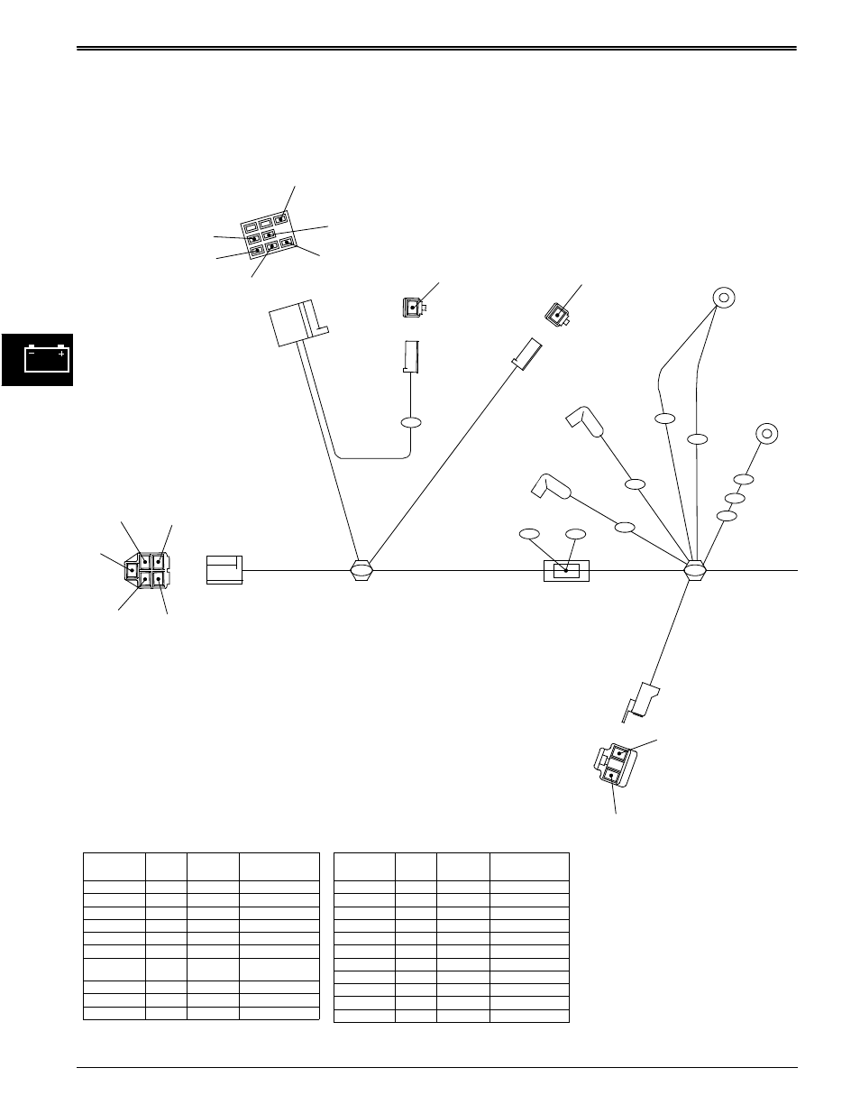 hight resolution of wiring harness diagrams electrical john deere stx38 user manual page 100 314