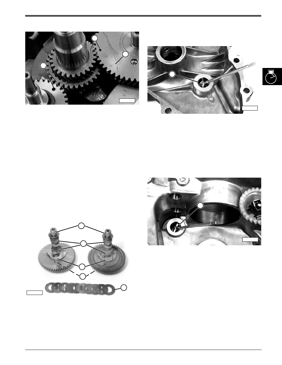 Remove and install camshaft, Inspect camshaft, Repair