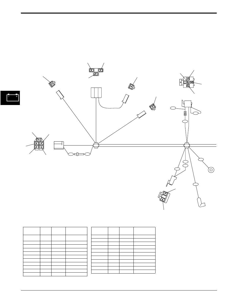 hight resolution of wiring harness diagrams electrical john deere stx38 user manual page 94 314