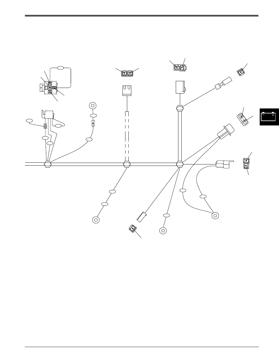medium resolution of wiring harness diagrams electrical john deere stx38 user manual john deere 314 wiring harness diagram