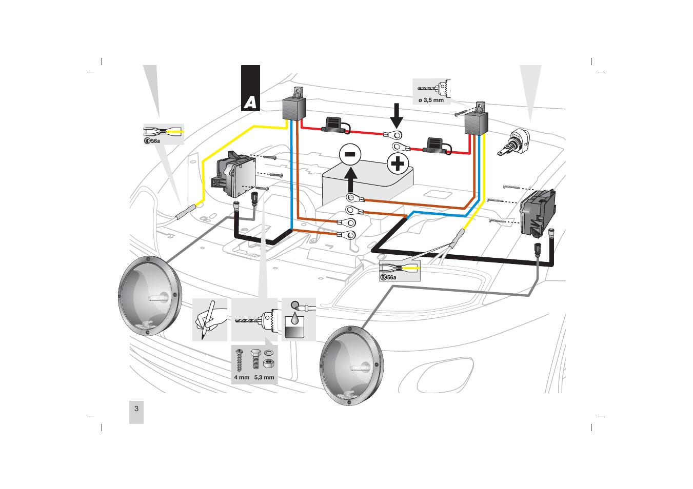 Hella 4000 Light Wiring Diagram Wire Diagram 1999 F150 4.2l
