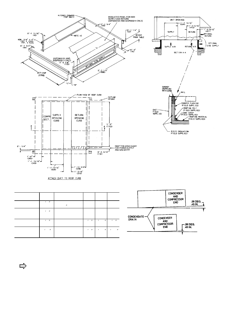 hight resolution of carrier single package rooftop units electric cooling gas heating 48hj015 025 user manual page 2 32