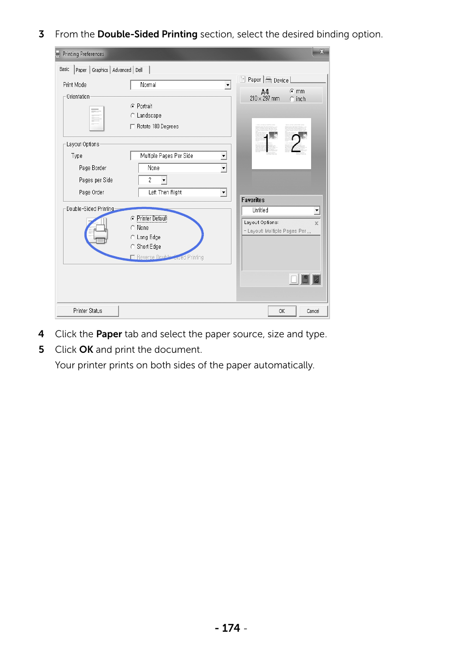 Dell B2375dnf Mono Multifunction Printer User Manual
