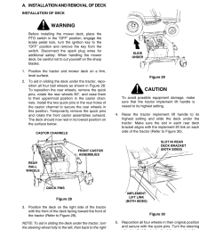 warning caution cub cadet 2206 user manual page 33 60 [ 954 x 1235 Pixel ]