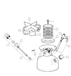 replacement parts list english 8 coleman 533 series user manual page 9 12 [ 954 x 2028 Pixel ]