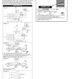 nameplate wiring diagrams qmark awh4000 series architectural heavy duty wall heaters user manual page 4 15 [ 954 x 1235 Pixel ]
