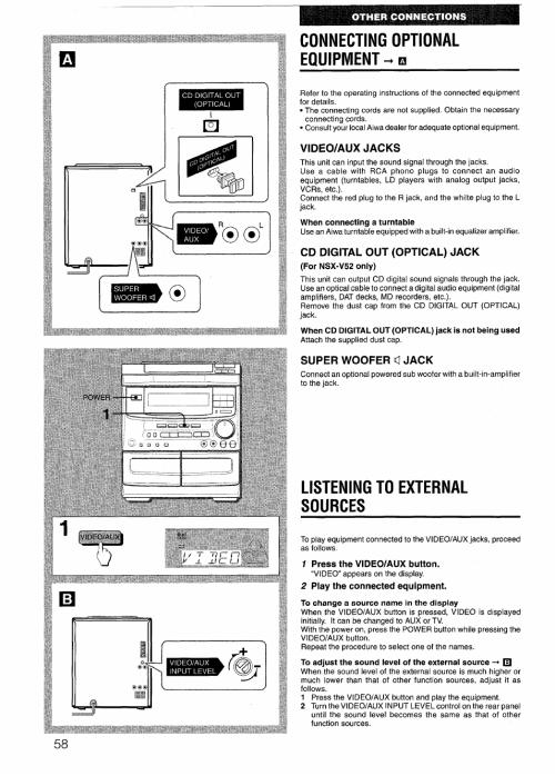 small resolution of  sony aiwa manuals ebook aiwa stereo wiring diagram on benq wiring diagram toshiba wiring diagram