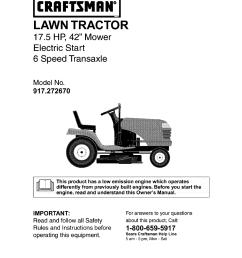 sear craftsman lawn tractor wiring diagram [ 954 x 1235 Pixel ]
